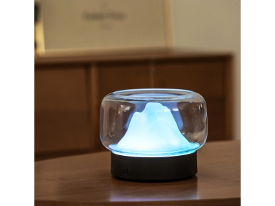Mountain View Aroma Diffuser fogger maker portable ultrasonic air aroma cool mist air humidifier  400ML